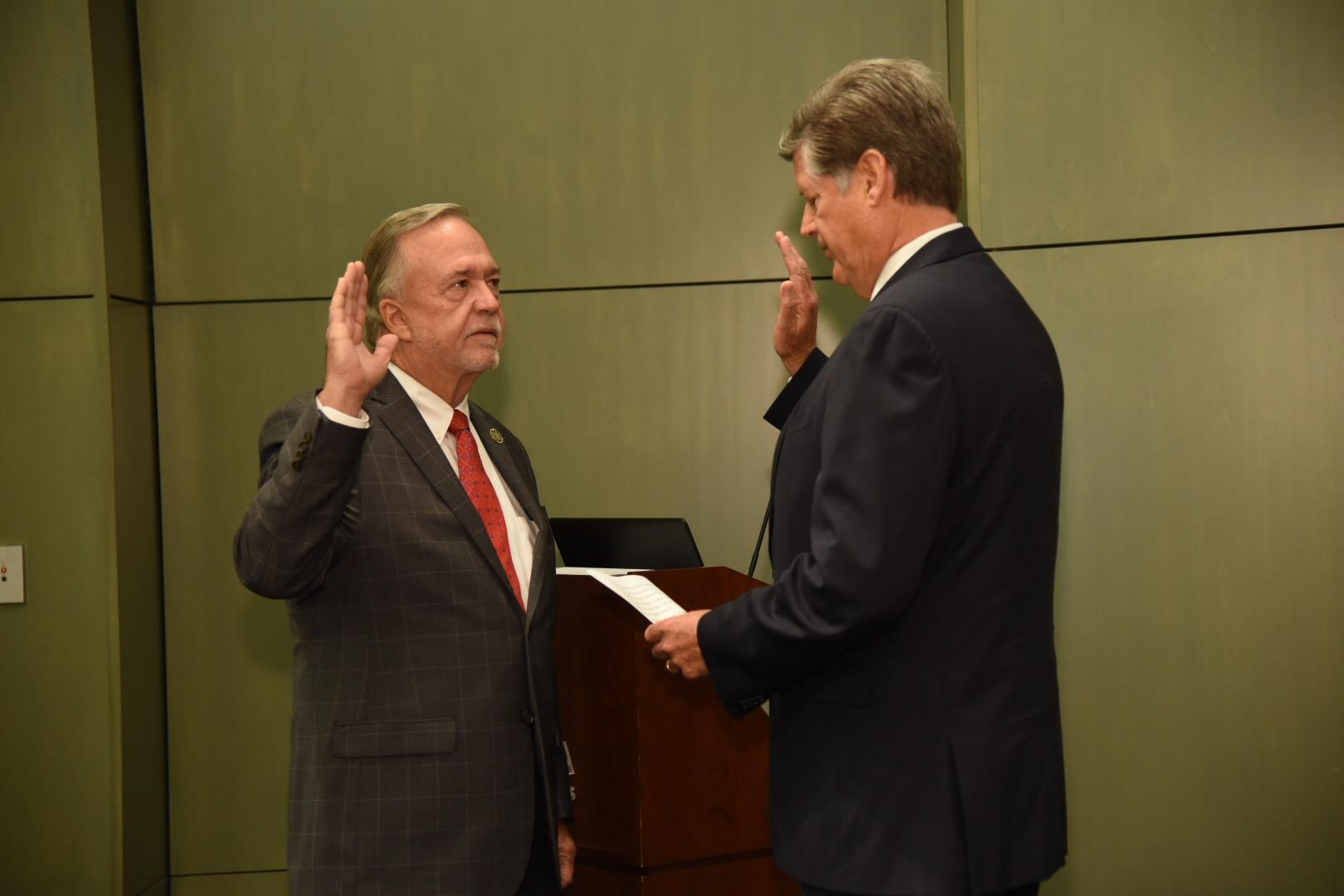 Governor Edwards Appointing Charles H. Ponstein to the Board of Commissioners