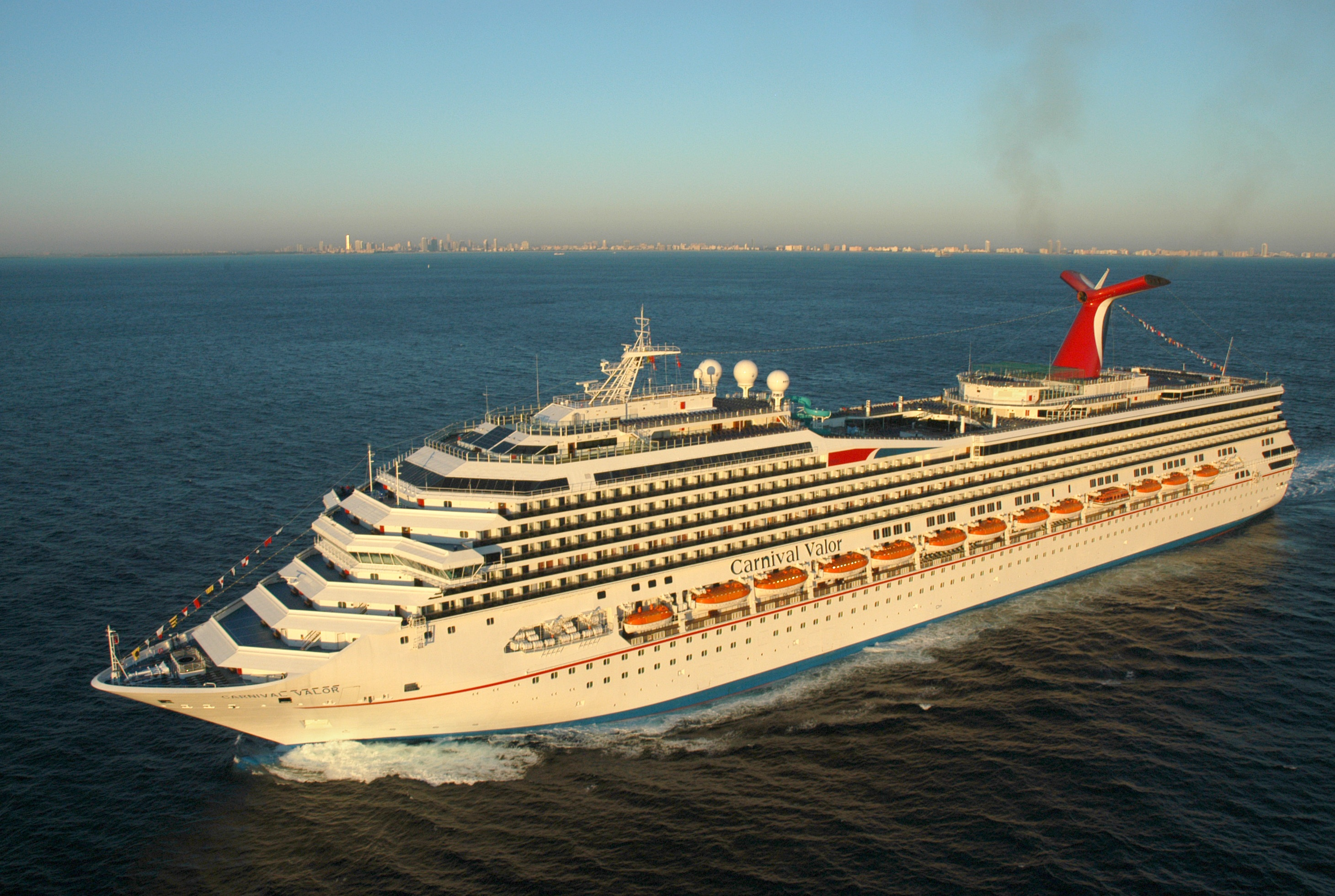 Carnival Valor Cruiseline Ship