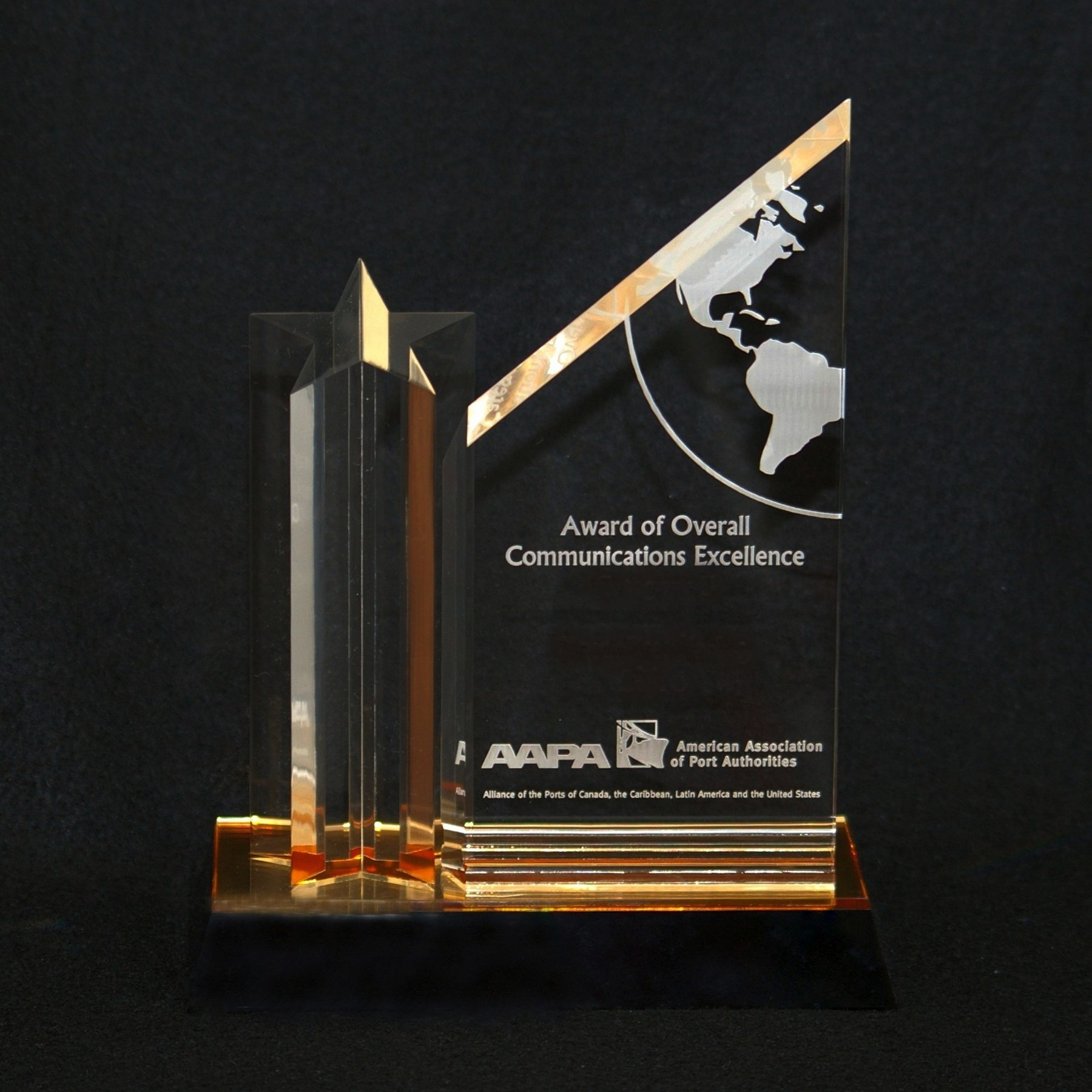 Overall Award Of Communications Excellence Trophy