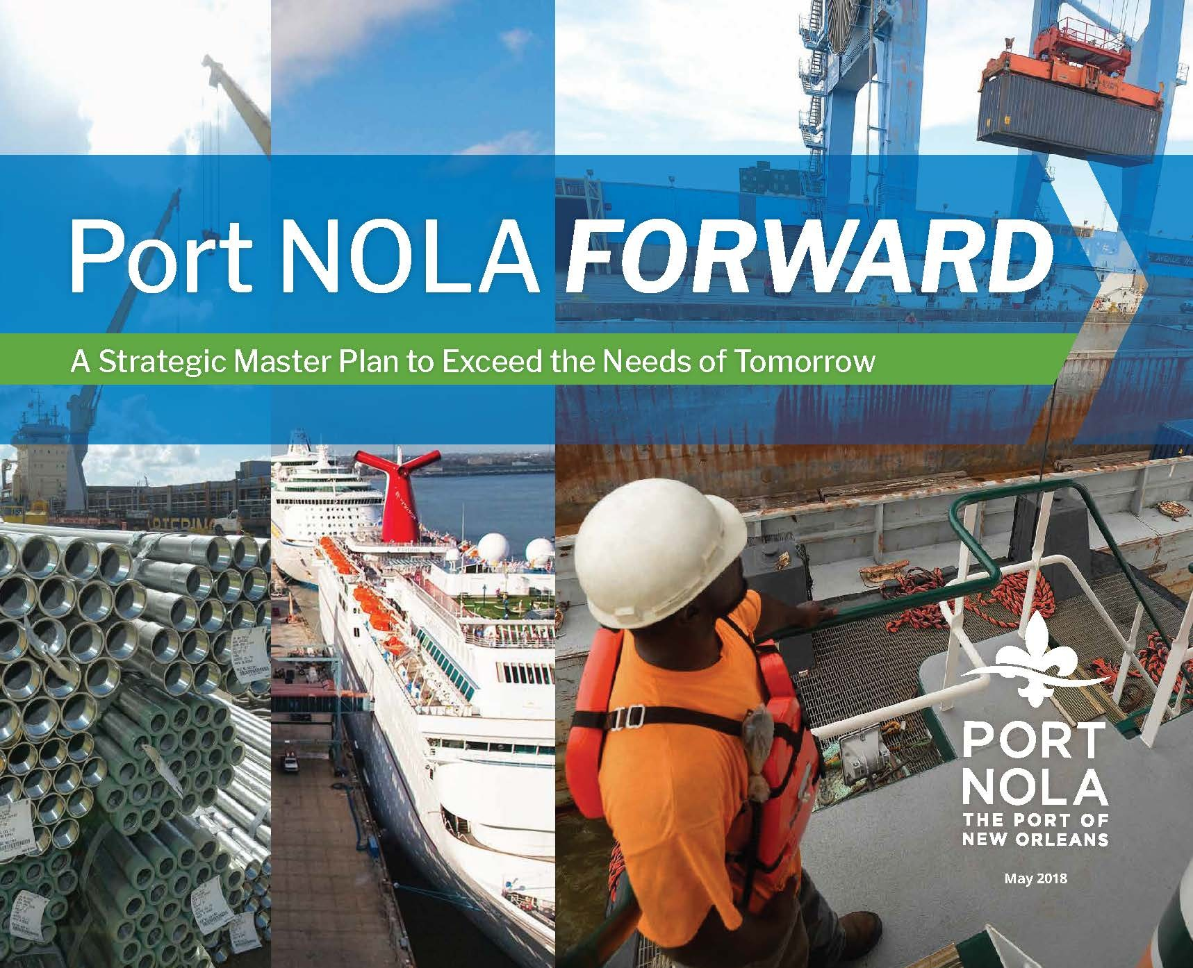 Port Nola Strategic Master Plan Cover Website
