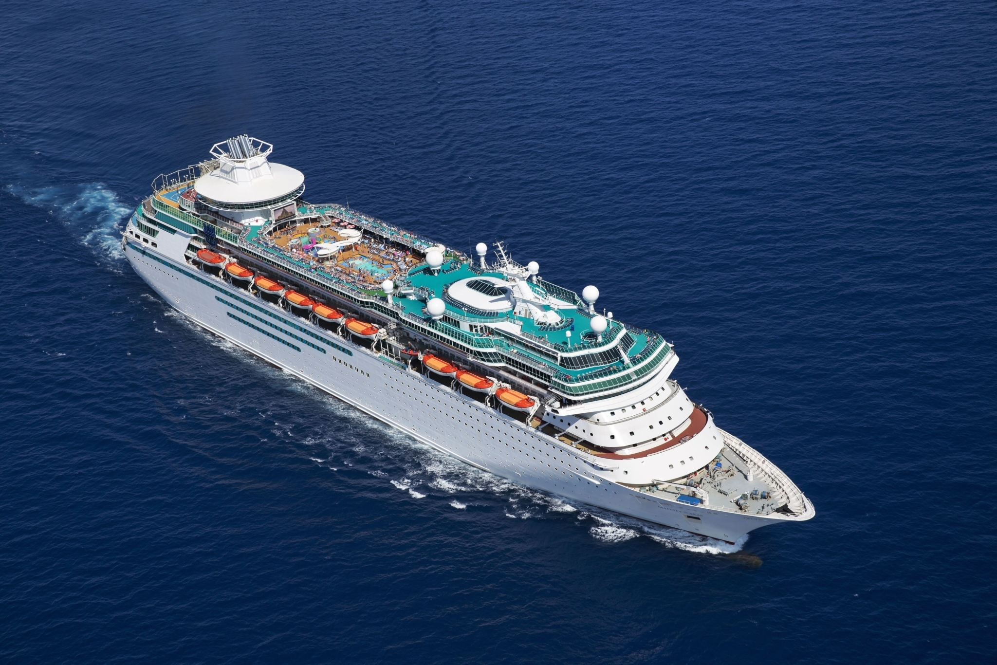 Royal Caribbean International Majesty of the Seas Aerial
