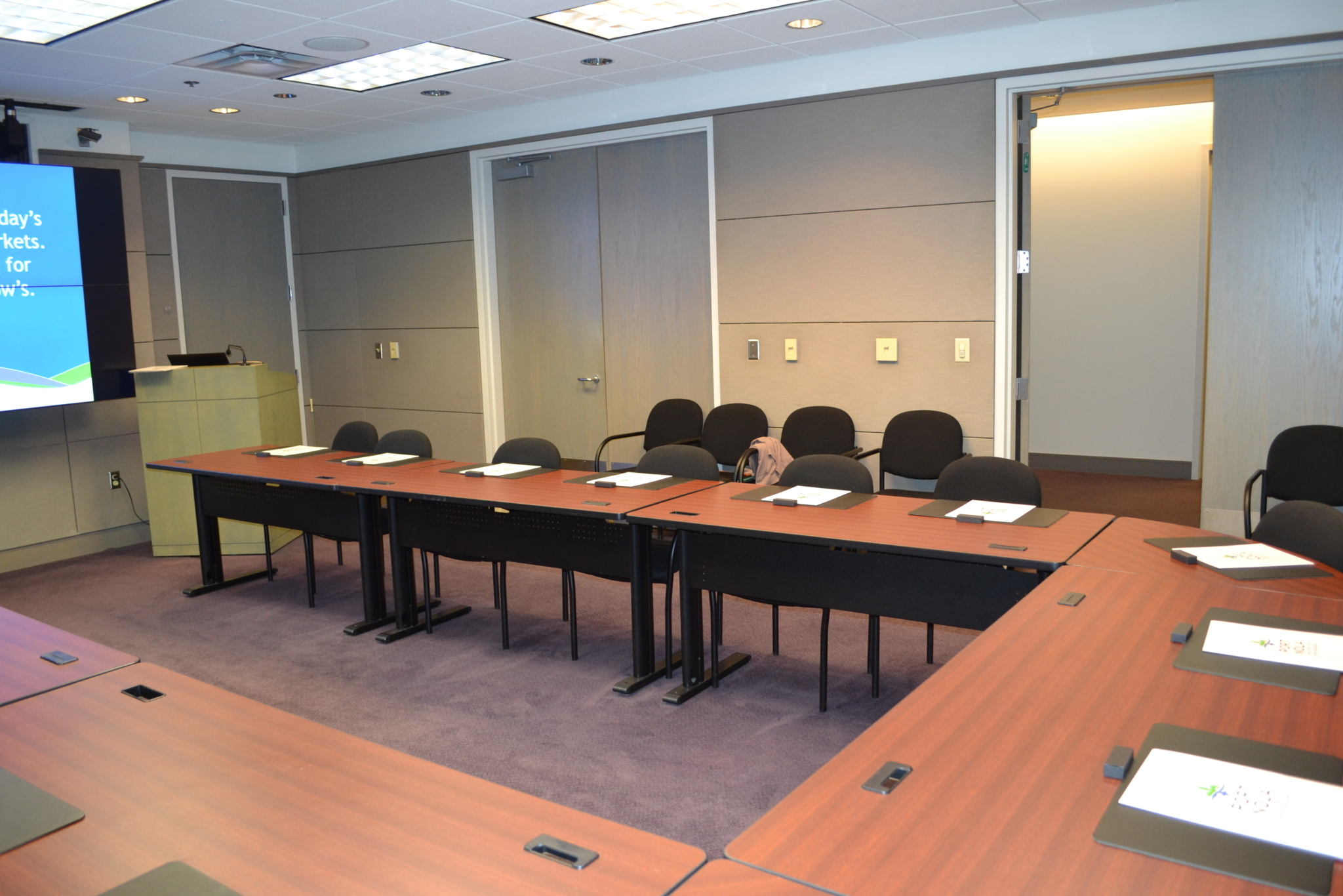 Venue Rental Presentation Room